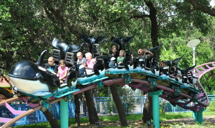 Shamu Rollercoaster #AdventureCon15 #Wildside15