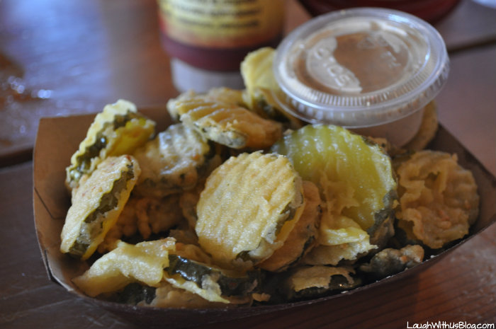 Twisted Root Burgar Company Fried Pickles
