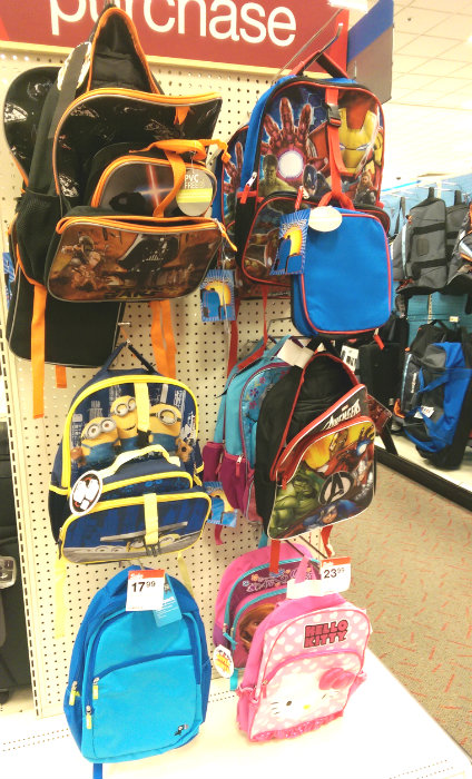 Back to School shopping at Target #WishIHadAWetOnes #ad