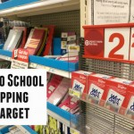 Back to School Shopping at Target
