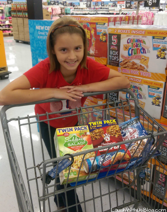 Box Tops for Education Meal Planning #kidsinthekitchen #ad