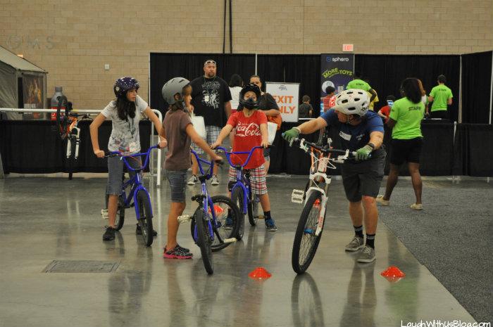 Family Adventure Fest BMX Bikes instruction #hosted