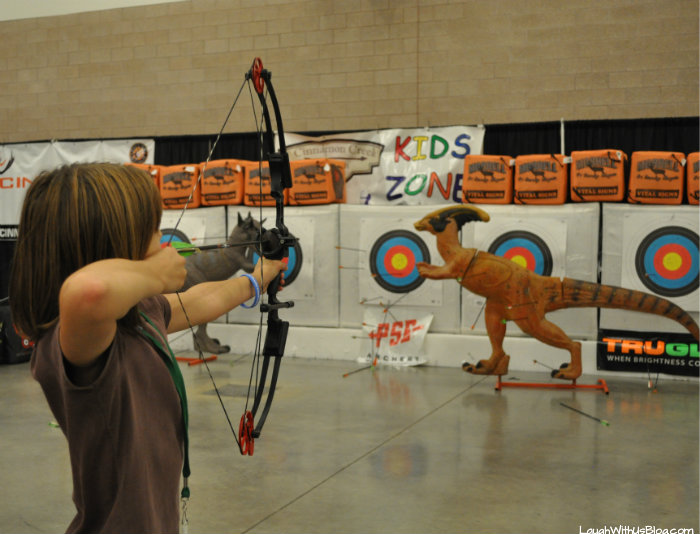 Family Adventure Fest Bow shooting #hosted
