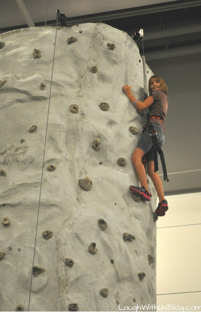 Family Adventure Fest Rock Climbing #hosted