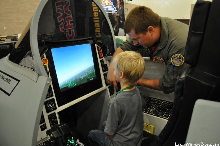 Family Adventure Fest Space Camp F18 simulator #hosted