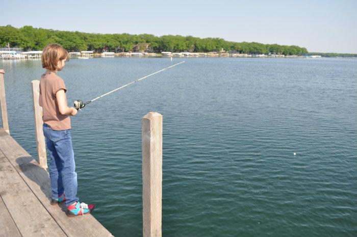 Fishing on Lake Okoboji