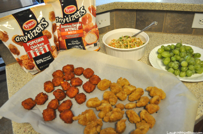 #WMTProjectAPlus #ad Anytizers Easy Meal