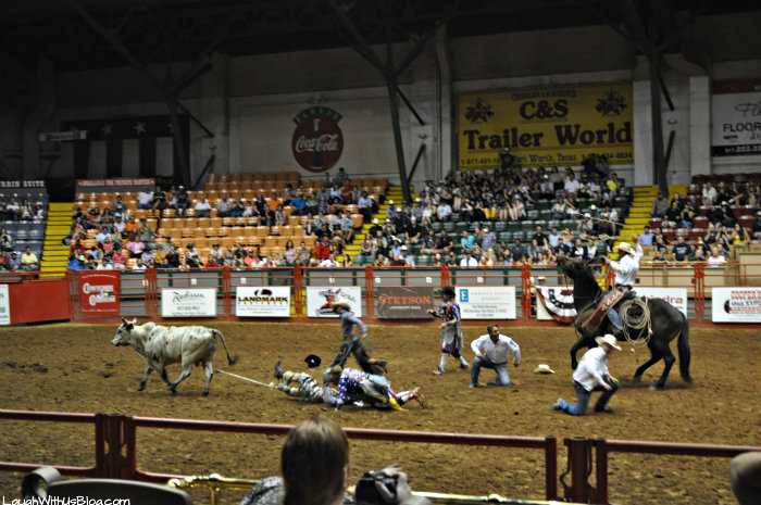 Fort Worth Stockyards Rodeo Bull riding accident #hosted