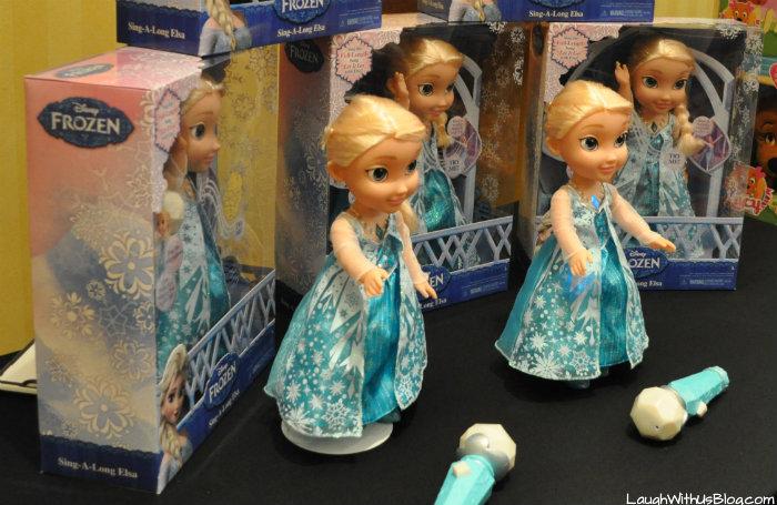FROZEN Sing-along Elsa #Chosenbykids #TheList #ad