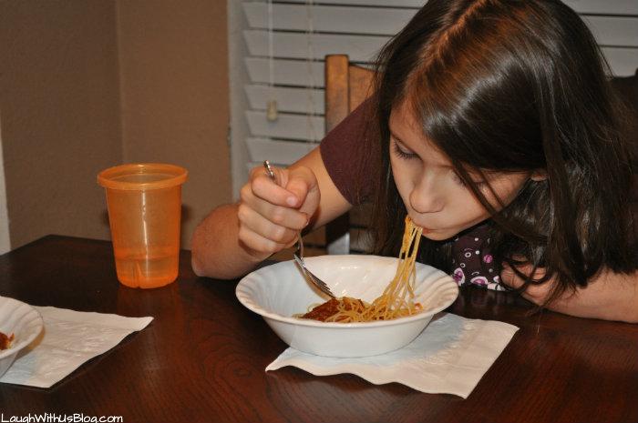 Fun with Ragu Spaghetti #ad