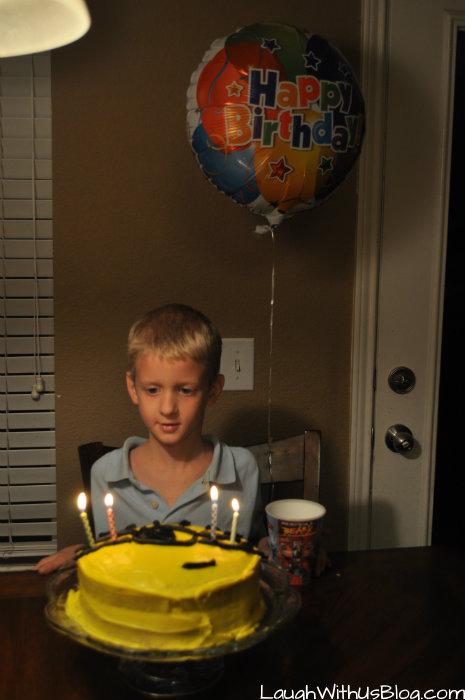Happy 7th Birthday Little Jason