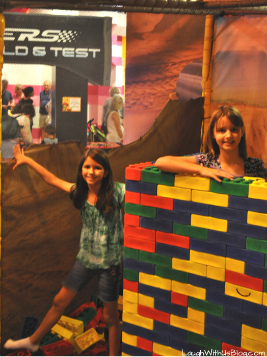 LEGO Fort LEGOLAND Discovery Center Grapevine #hosted