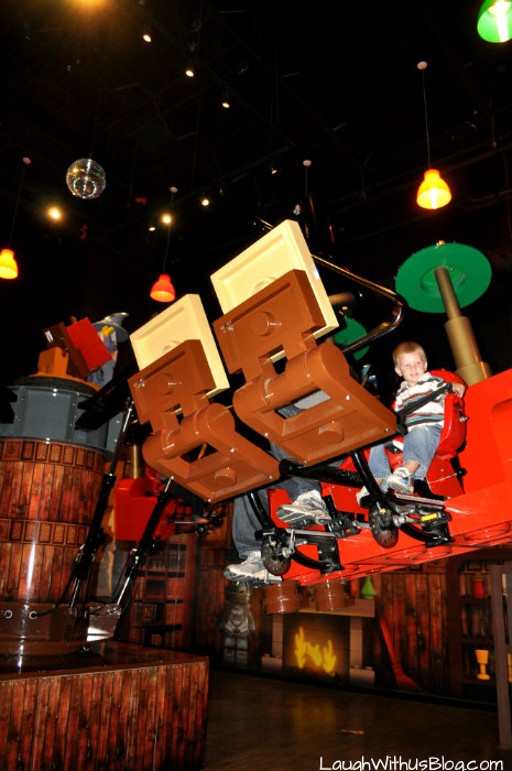 LEGOLAND Discovery Center Rides #hosted