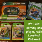 LeapPad Platinum, Learning the fun way
