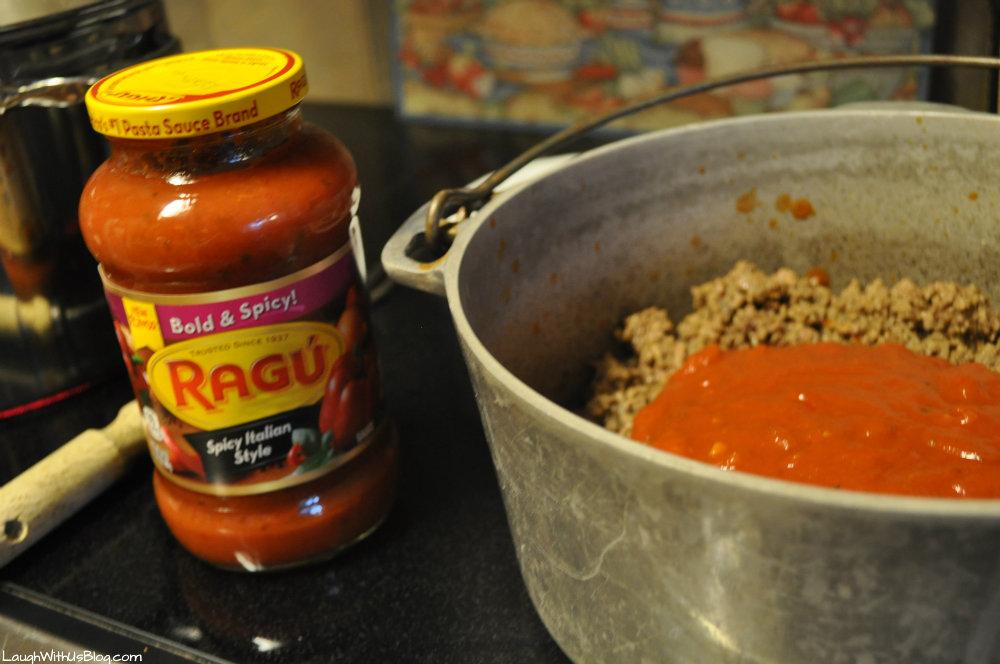 Ragu Spicy Italian at Kroger #ad