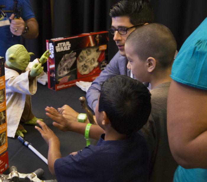 Star Wars Yoda at Walmart #ChosenByKids #thelist #ad