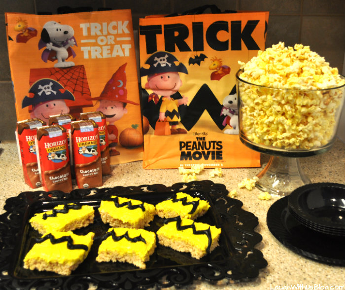 The Peanuts Movie Snacks for kids #ad
