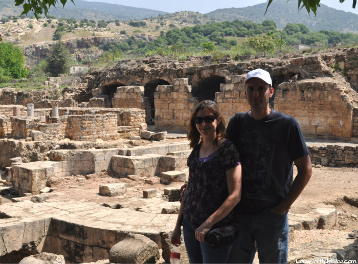 Agrippa II Palace Banias Nature Reserve Israel