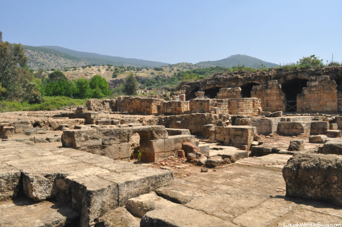 Agrippa II Palace in Banias Nature Reserve