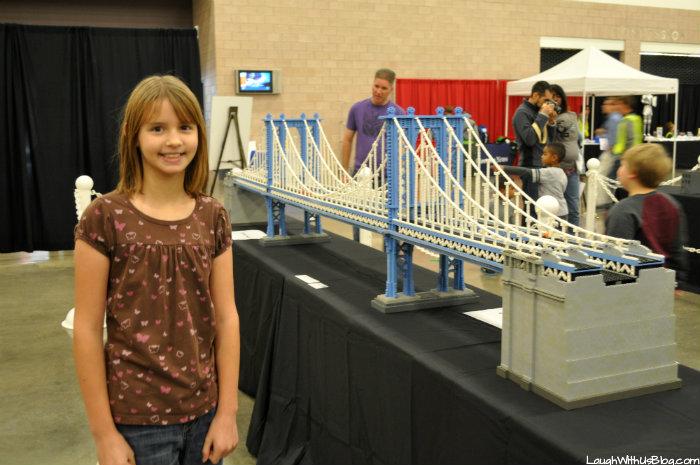 Brick Universe LEGO bridge