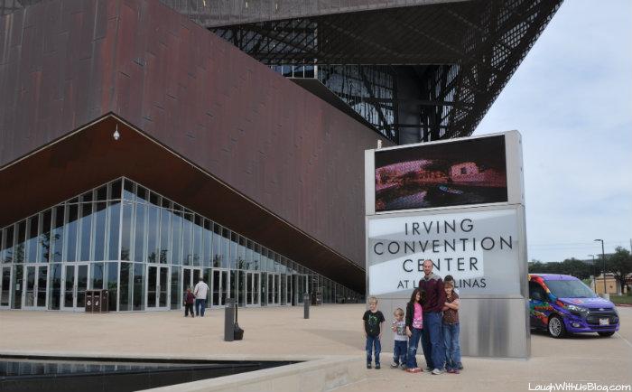 Brick Universe at Iriving Convention Center