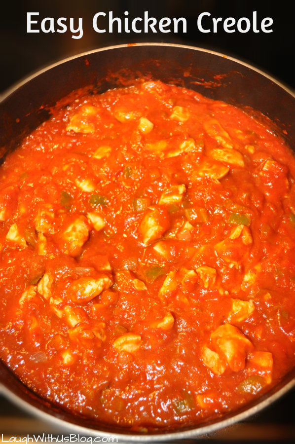 Chicken Creole--Oh so easy and delicious!