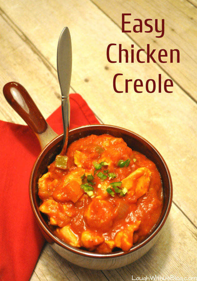 Chicken Creole Recipe--So Easy, takes me back to Cajun country!