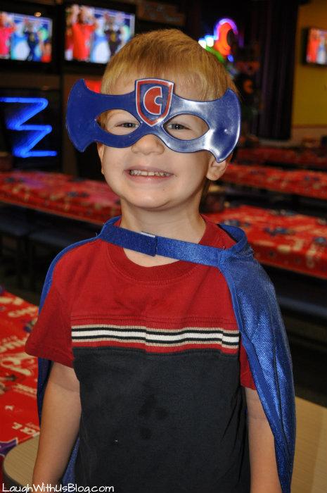 Chuck E Cheese Birthday Boy