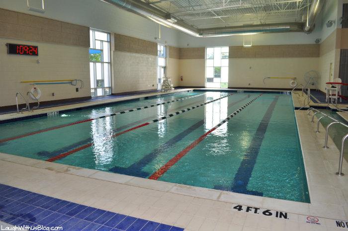 Farmers Branch Aquatic Center Indoor pool #FBh2o