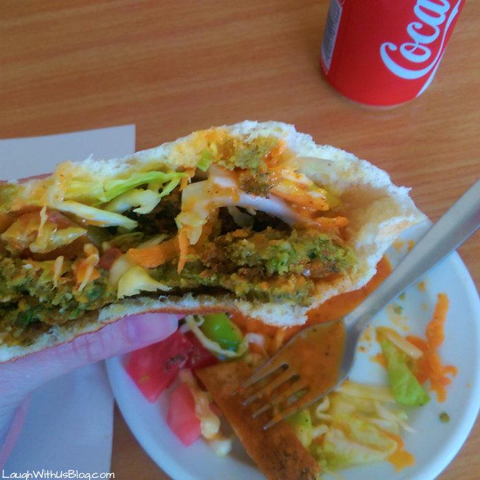 Israel Food My first Flafel
