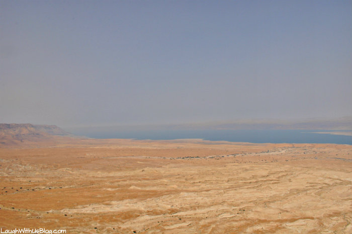 Masada, beautiful view from