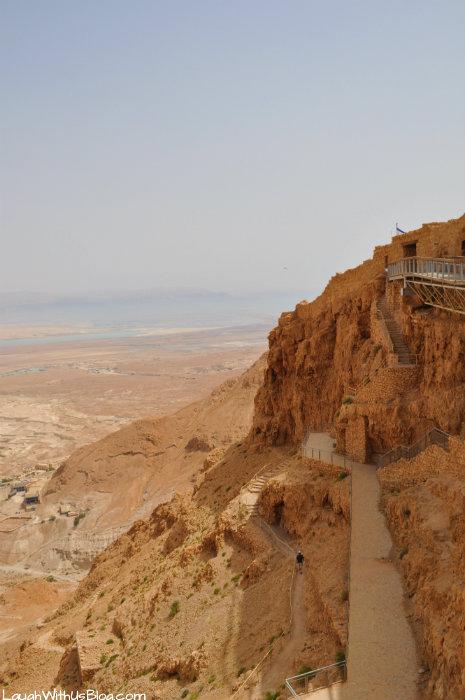 Masada trails