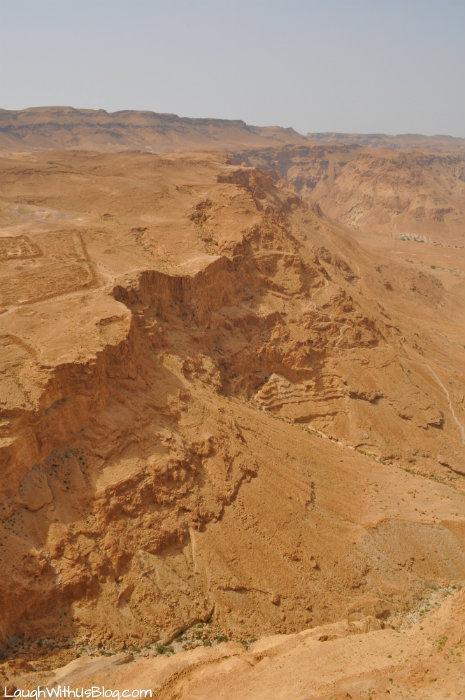 Masada, view from