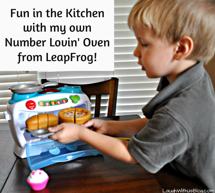 Number Lovin' Oven #LeapFrogMomSquad #KitchenKids