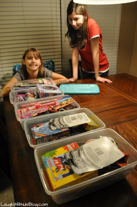 Operation Christmas Child Shoeboxes