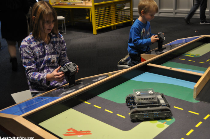 Perot Museum Remote Control Tanks
