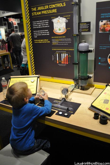 Perot Museum Steam Pressure