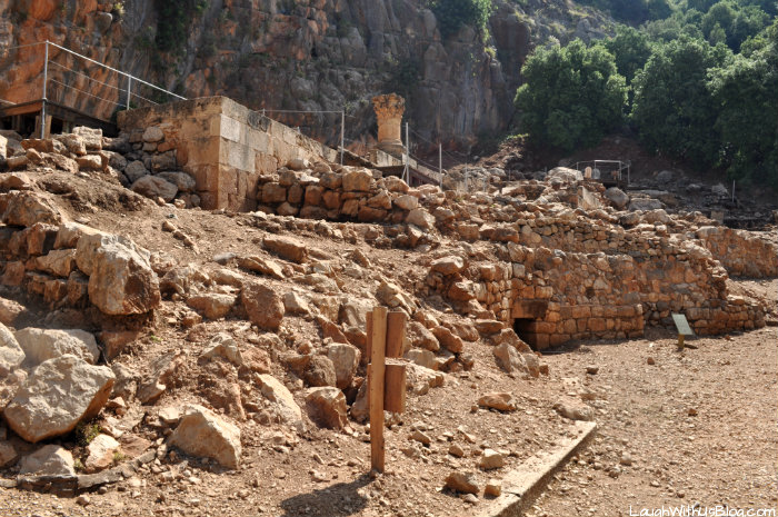 Ruins of the Temple of Pan Israel Banias