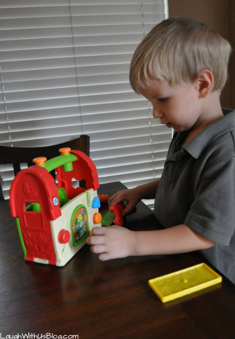Scout's Build & Discover Tool Set LeapFrog #leapfrogmomsquad