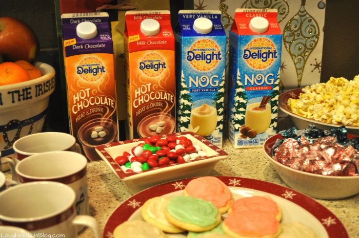 Christmas Party Game night #ShareYourDelight #ad