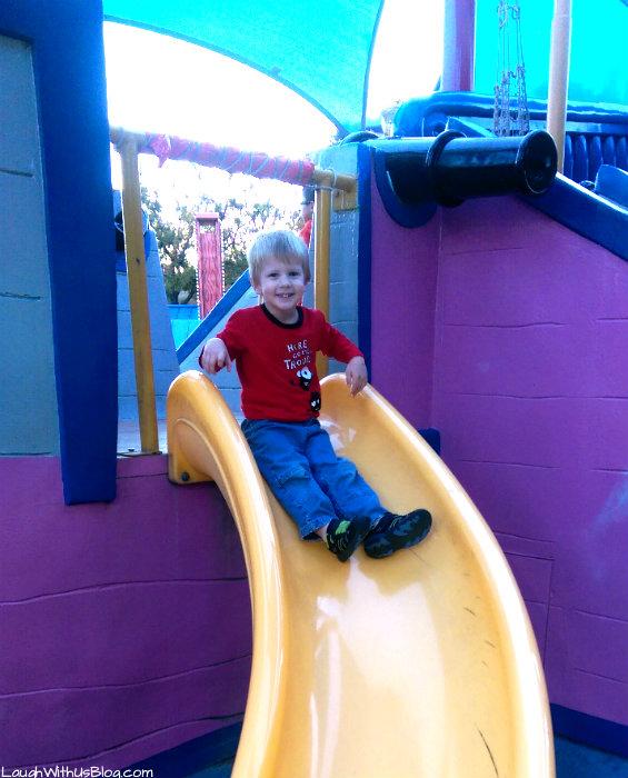 Fiesta Texas Play area
