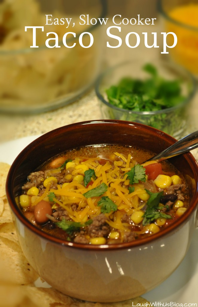 Taco Soup, Easy Slow Cooker