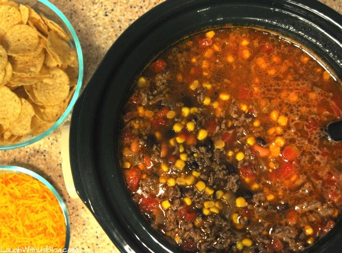 Taco Soup, Slow Cooker