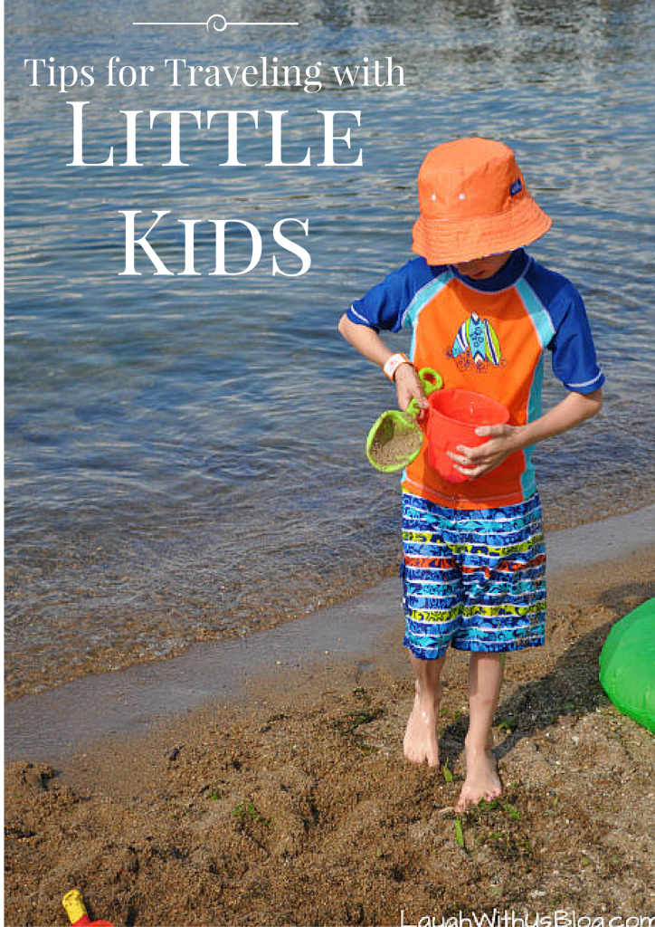 Tips for Traveling with Little Kids AD