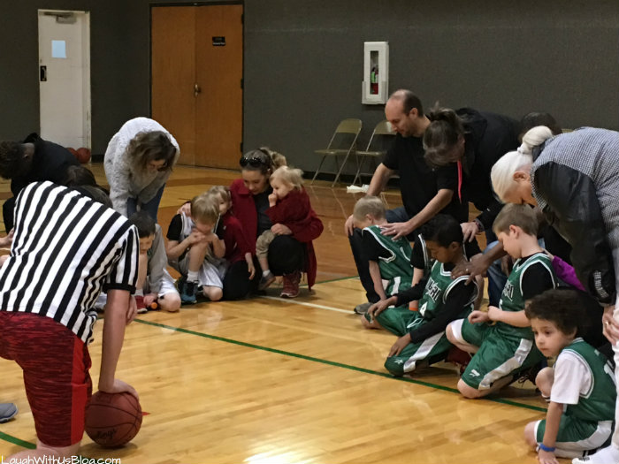 Upward Basket Ball Prayer