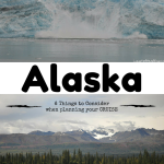Planning an Alaskan Cruise Vacation