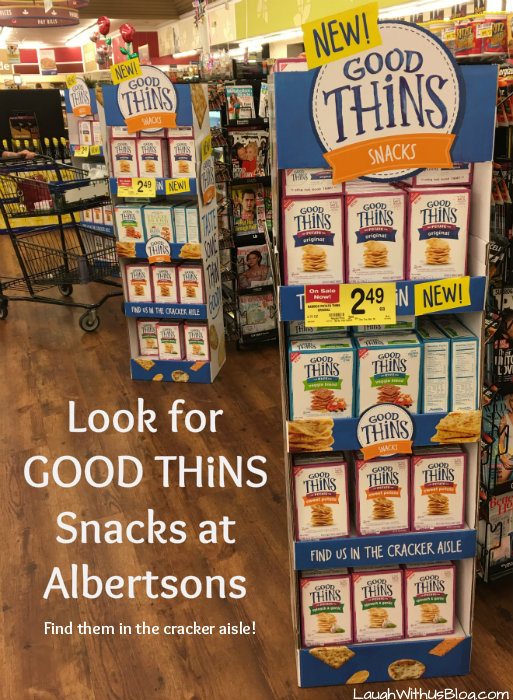 GOOD THiNS Snacks Alberstons #ad