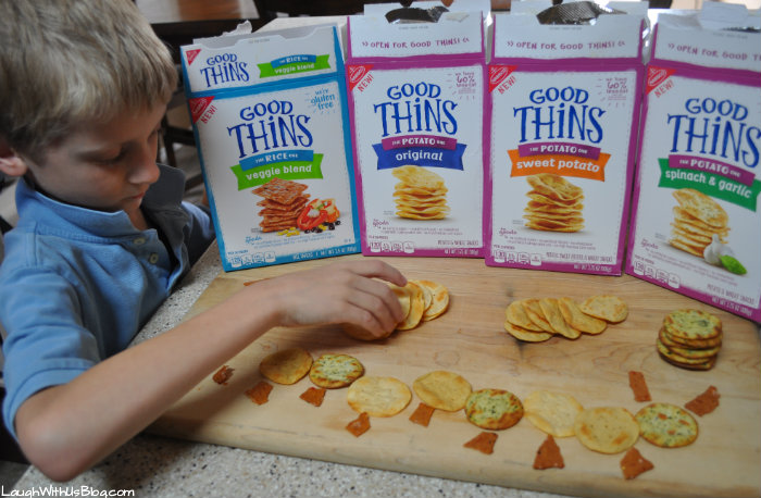 GOODTHiNS crackers fun #ad