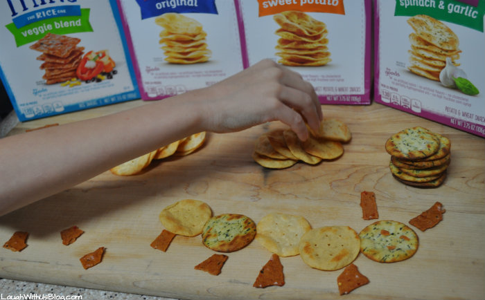 Snacking with GOODTHiNS Crackers #ad