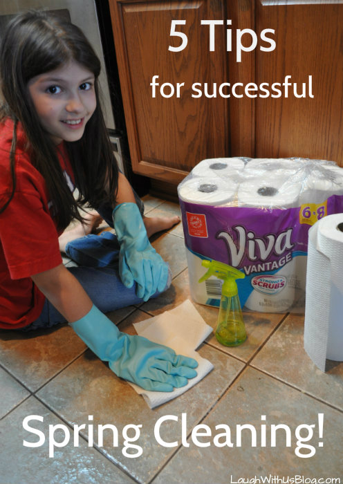 5 tips for successful spring cleaning laugh with us blog - Five tips for quick cleaning ...